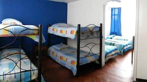 Individually furnished, iron/ironing board, rollaway beds, linens
