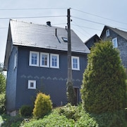 6-person Half-timbered House Near the Famous Rennsteig Ridgeway on Germany's Steepest Street
