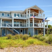 Hat Trick 4 Bedroom Holiday Home By Bald Head Island
