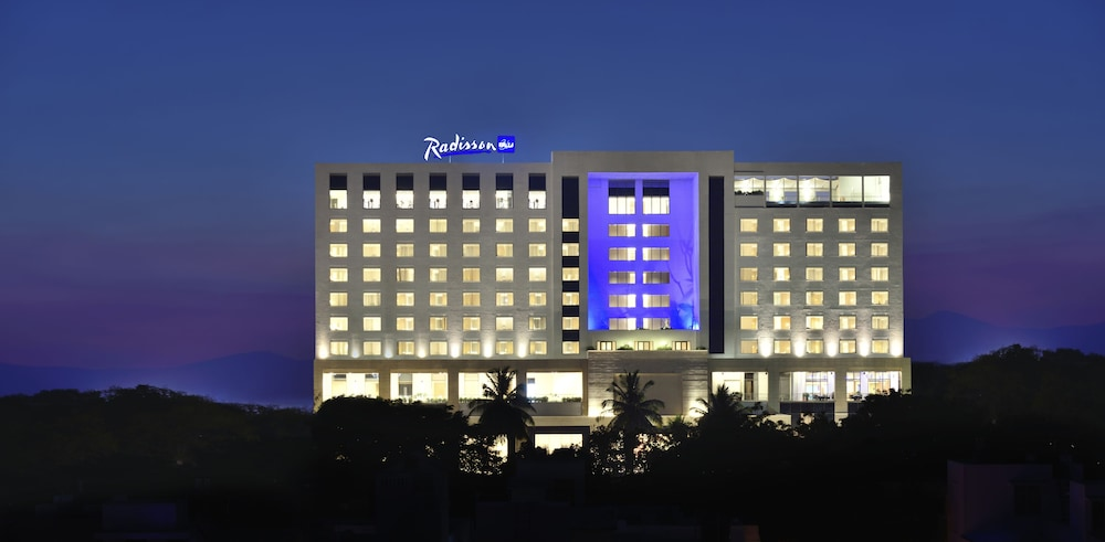Front of Property, Radisson Blu Coimbatore