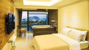 고급 침구, 메모리폼 소재 침대, 무료 WiFi