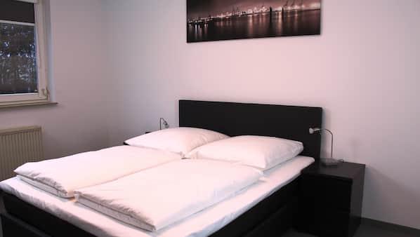 2 Schlafzimmer, hochwertige Bettwaren, Minibar, Zimmersafe