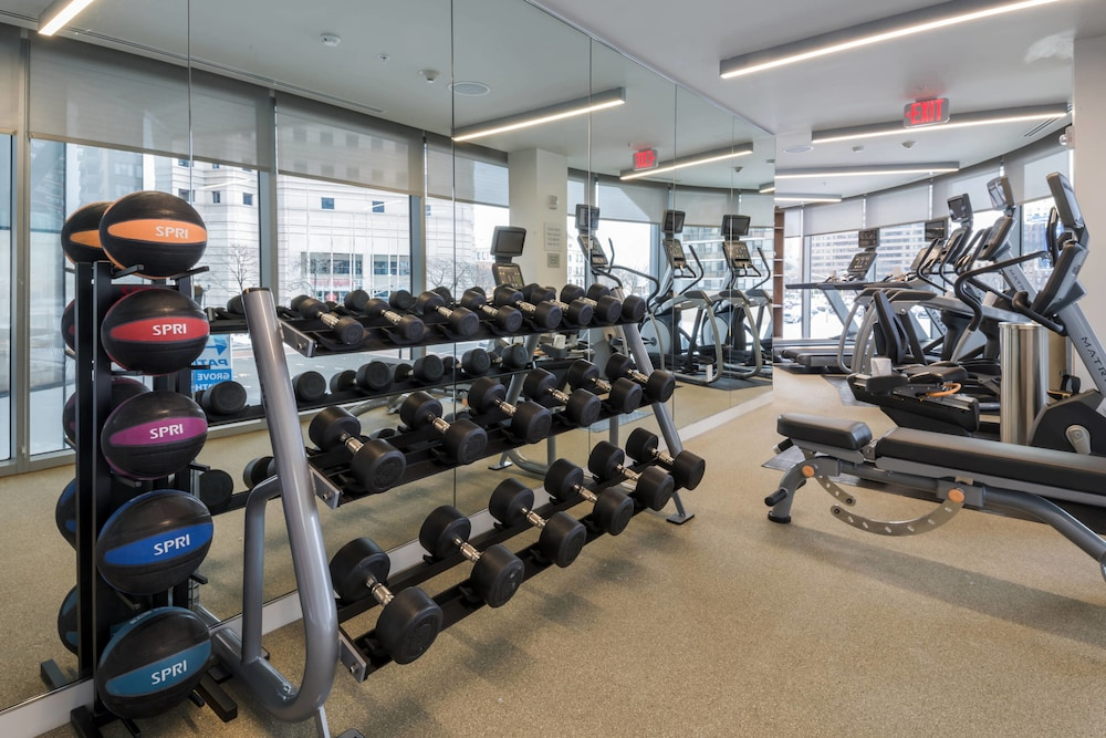 Fitness Facility, Residence Inn by Marriott Jersey City