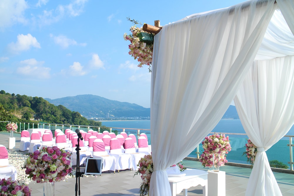 Outdoor Wedding Area, Wyndham Grand Phuket Kalim Bay