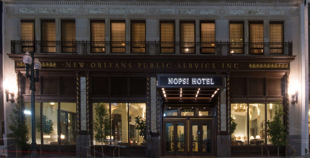 Exterior, NOPSI Hotel, New Orleans