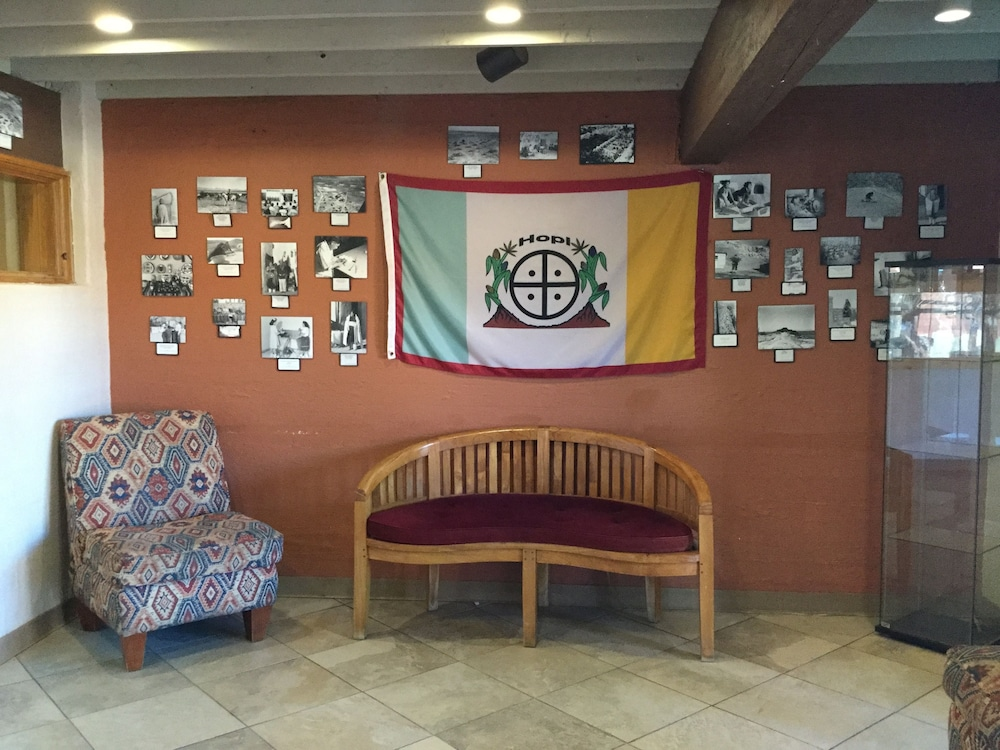 Lobby Sitting Area, Hopi Cultural Center