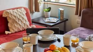 Servicio de comida en la habitación