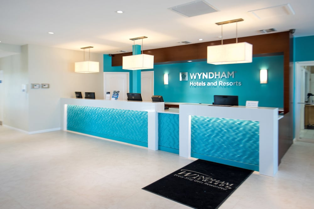 Reception, Wyndham Reef Resort All-Inclusive