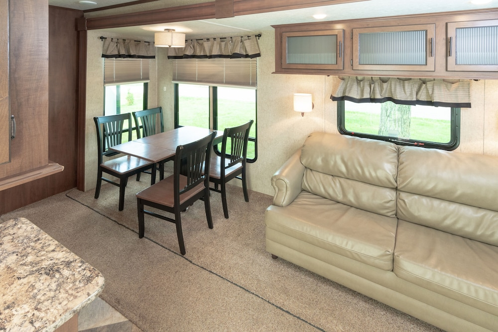 Living Area, Seaport RV Resort