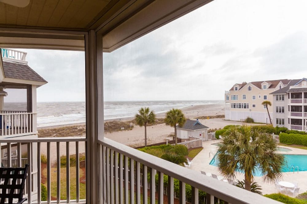 View from Room, Vacation Rentals at Wild Dunes Resort