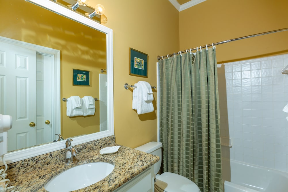 Bathroom, Vacation Rentals at Wild Dunes Resort