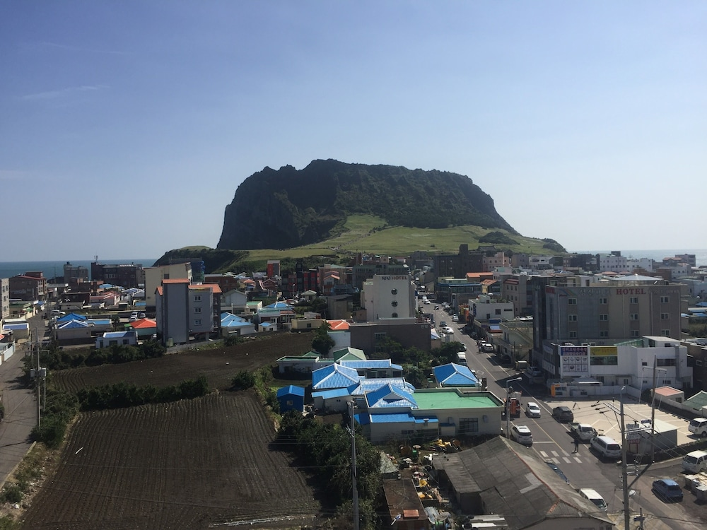 View from Property, Co'op City Hotel Seongsan