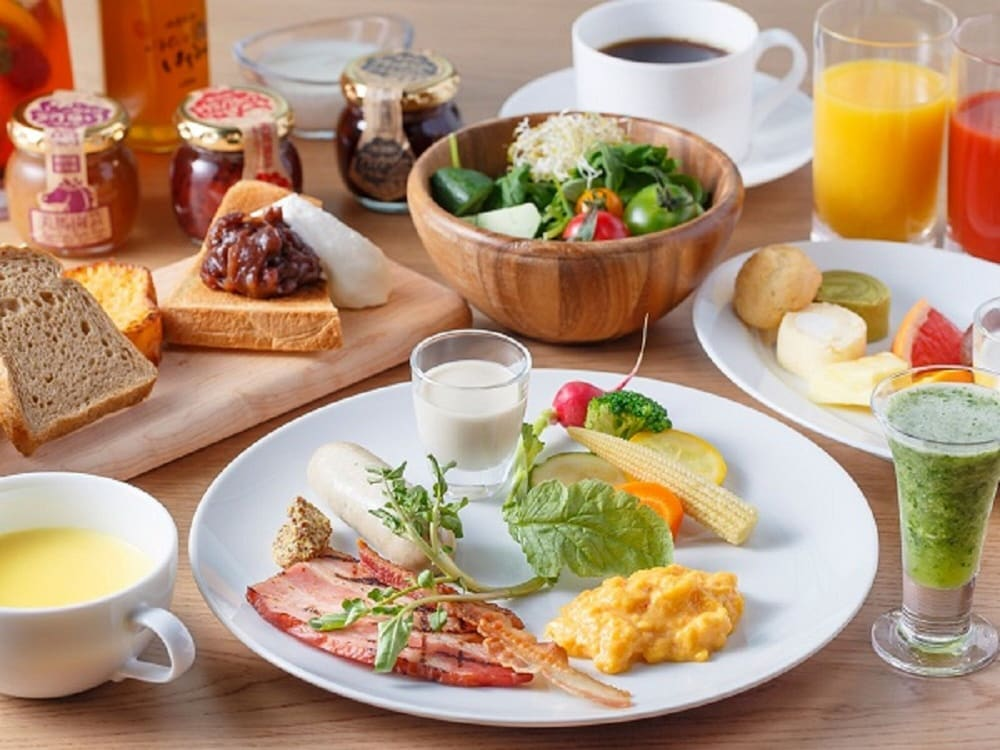 Breakfast Meal, Hotel Metropolitan Sendai East