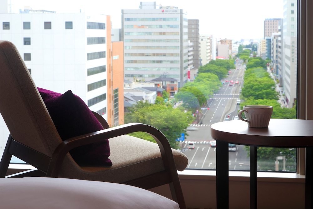 View from Room, Hotel Metropolitan Sendai East