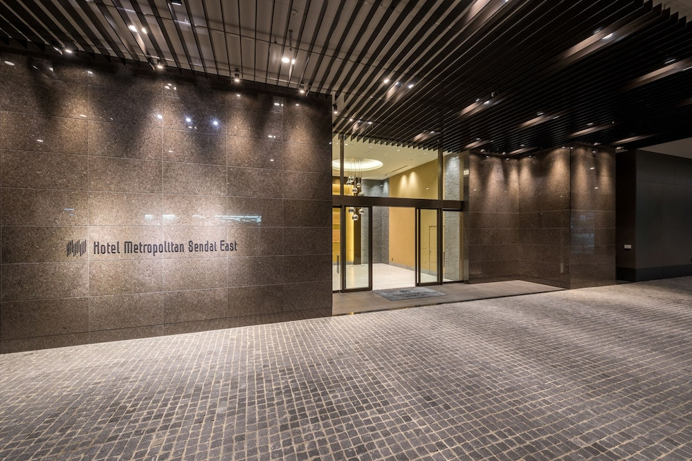 Property Entrance, Hotel Metropolitan Sendai East