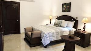 1 bedroom, memory foam beds, minibar, in-room safe