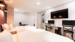 書桌、隔音、免費 Wi-Fi