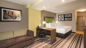 Premium bedding, pillow top beds, iron/ironing board