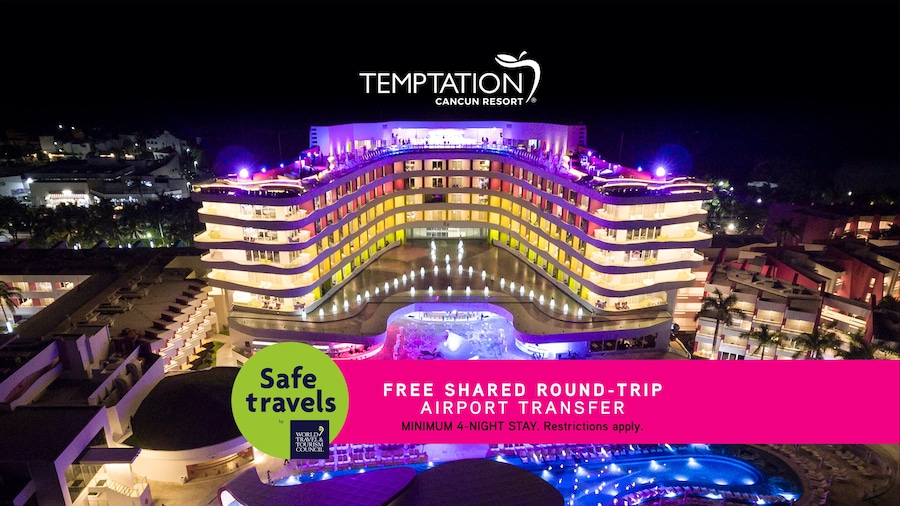 Temptation Cancun Resort  -All inclusive - Adults Only