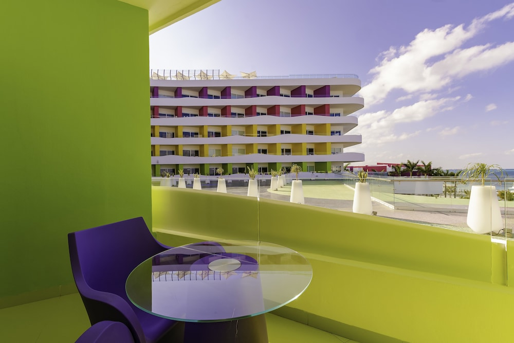 Balcony, Temptation Cancun Resort  - All Inclusive- Adults Only
