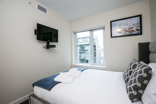 Check Expedia for Availability of Chic 1BR in Olympic Village by Sonder
