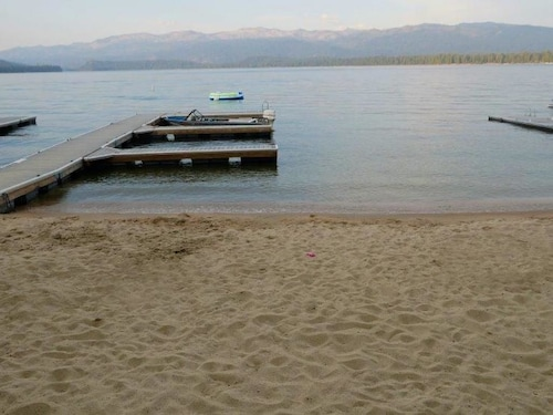 Check Expedia for Availability of Hubbard Cabin Retreat with Payette Lake Access