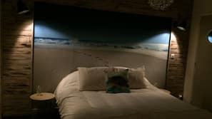 2 dormitorios, ropa de cama de alta calidad, minibar