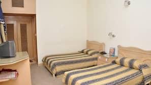 Minibar, desk, blackout curtains, free cots/infant beds