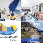 Exclusive apartments Positano