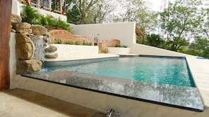 2 outdoor pools, open 10:30 AM to 8:00 PM, sun loungers