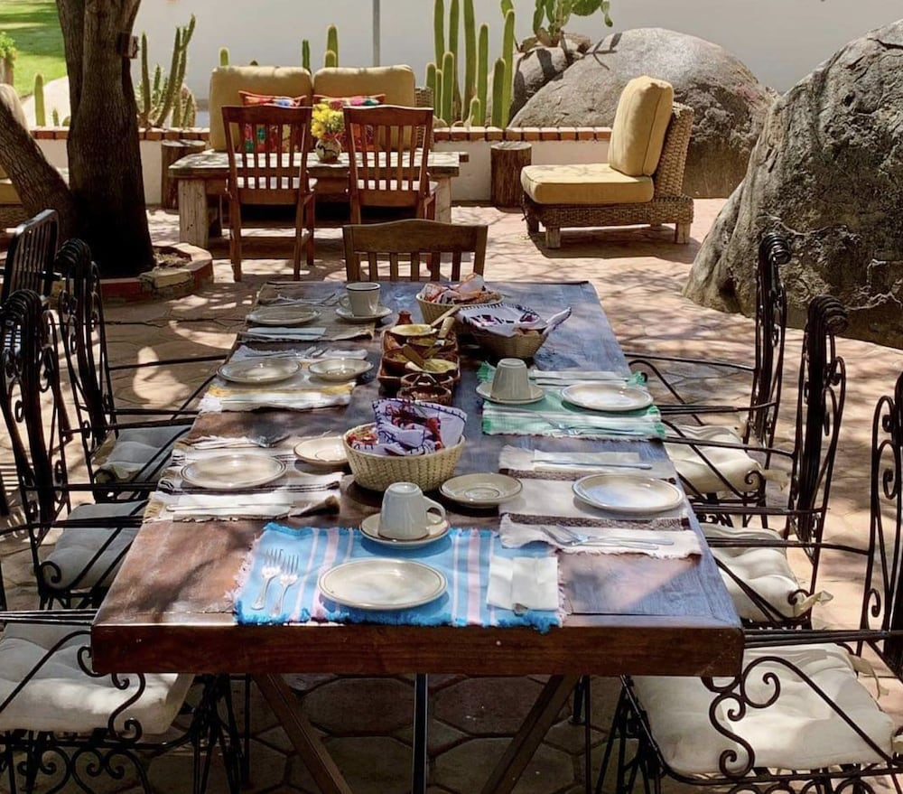Breakfast Area, Rancho El Parral