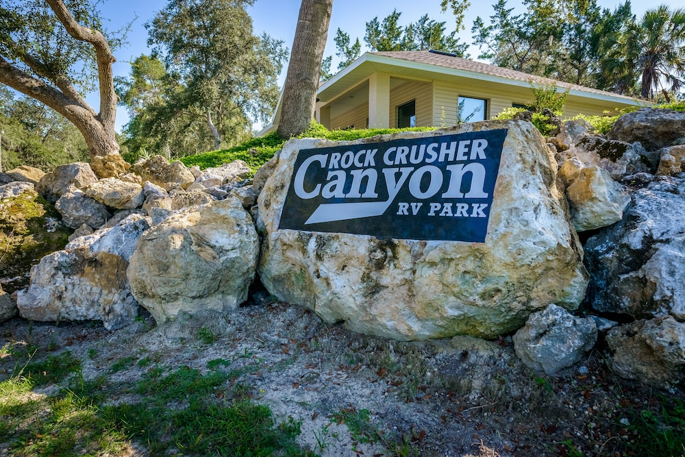 Property Grounds, Rock Crusher Canyon RV Park