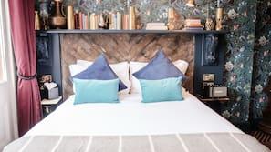 Hochwertige Bettwaren, Minibar (mit einigen kostenlosen Artikeln)