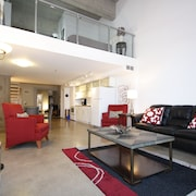 Downtown Loft Style Condo Heated Parking