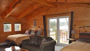 1 間臥室、高級寢具、免費 Wi-Fi