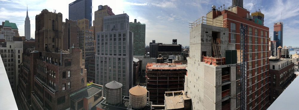 View from Room, Hilton Garden Inn New York Times Square South