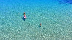 Playa privada cerca y tumbonas