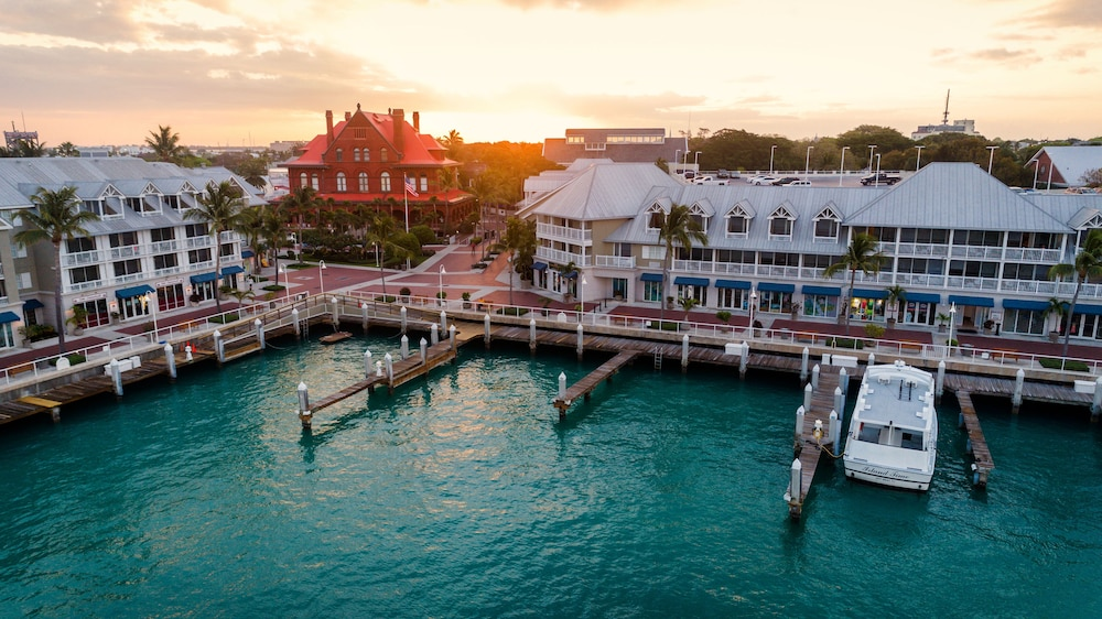 Aerial View, Opal Key Resort & Marina, Key West