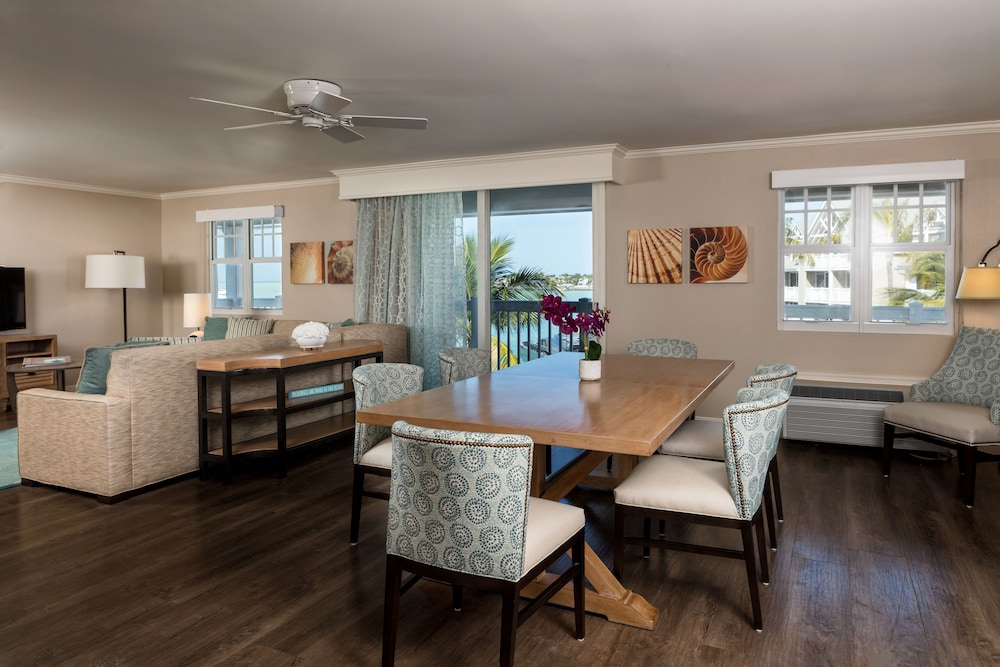 Living Area, Opal Key Resort & Marina, Key West