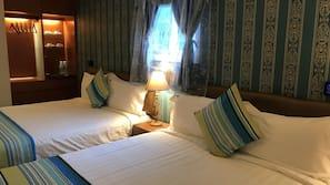 1 間臥室、高級寢具、迷你吧、設計每間自成一格