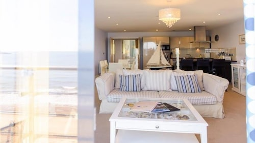 Living Area, The Sands - Sea Front Apartments