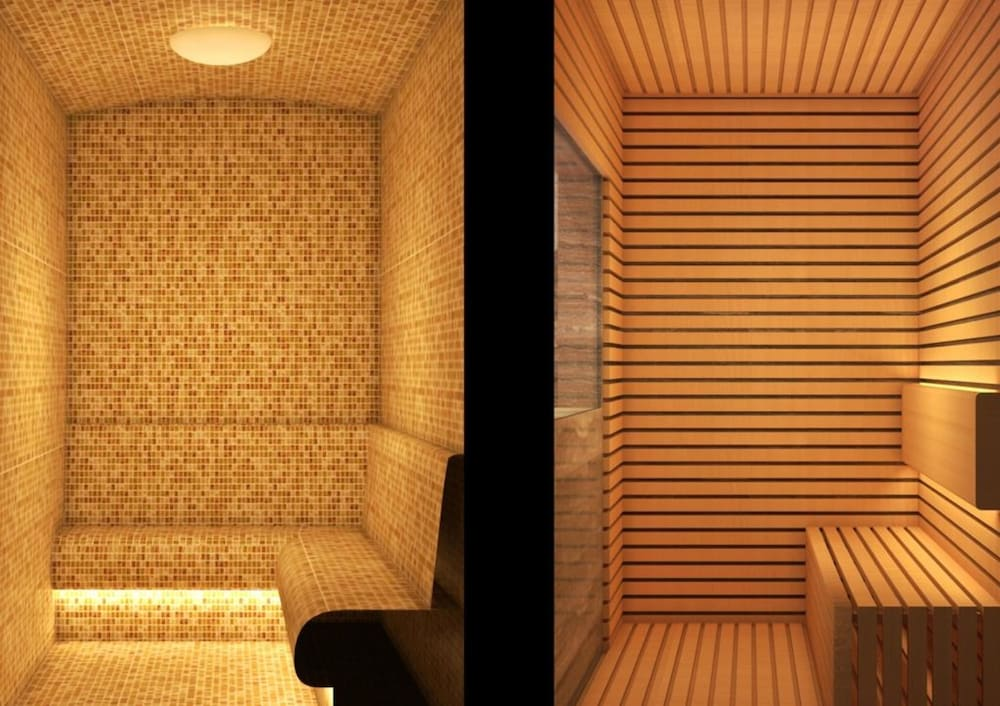 Sauna, The Lapis Hotel