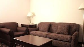 Desk, free rollaway beds