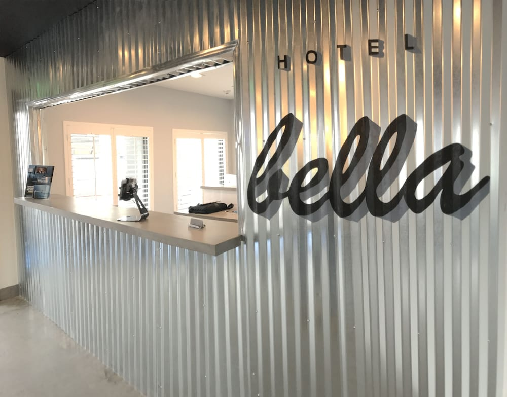 Check-in/Check-out Kiosk, Hotel Bella