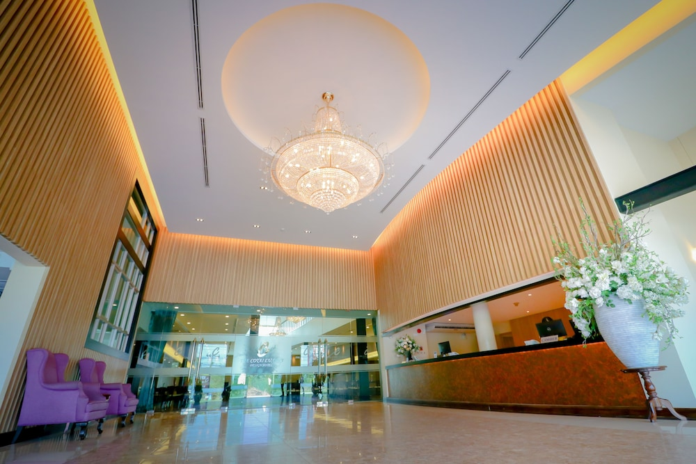 Reception, The Cotai Luxury Design Hotel