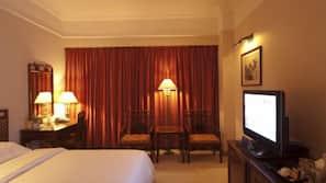 1 dormitorio, minibar, caja fuerte y cortinas opacas
