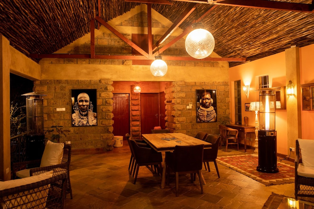 Living Room, Anga Afrika Luxury Boutique Camp Nairobi