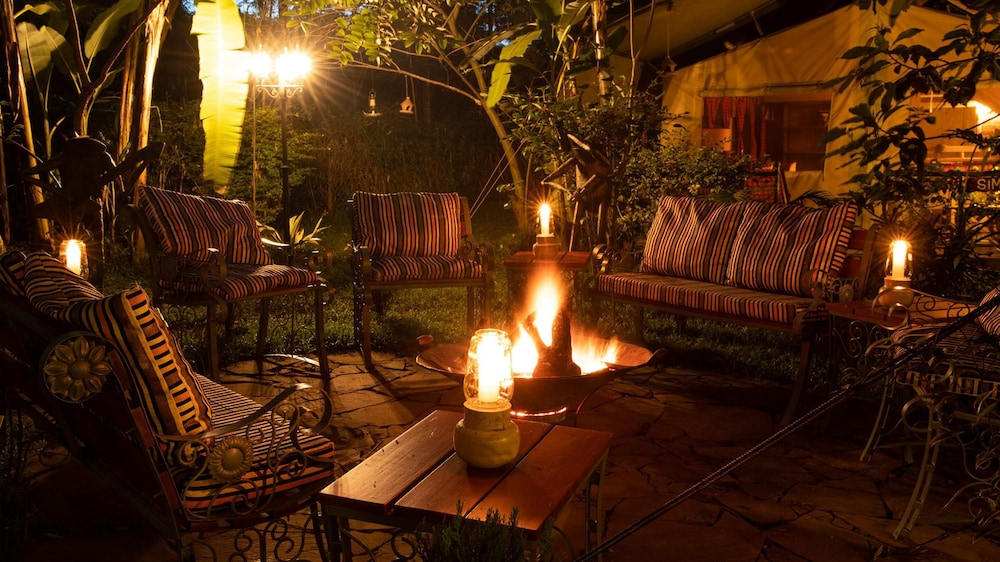 Garden, Anga Afrika Luxury Boutique Camp Nairobi