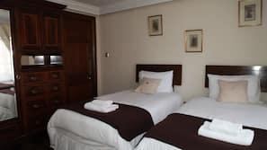 1 bedroom, desk, iron/ironing board