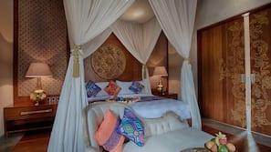 1 間臥室、高級寢具、迷你吧、保險箱